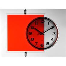 Film transparent couleur Rouge vermillon