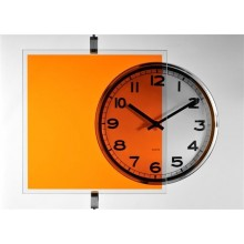 Film transparent couleur Orange