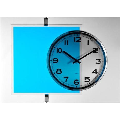 Film transparent couleur Bleu azur